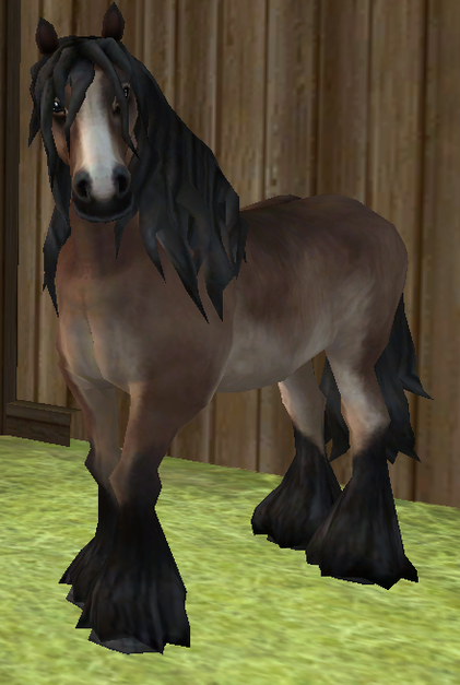 North Swedish Horse - Everything Star Stable Running Horse Png